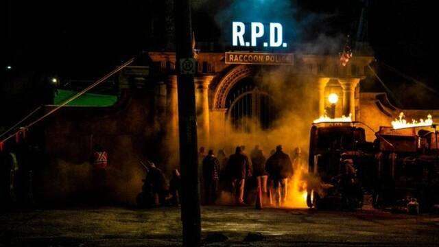Rodaje de Resident Evil