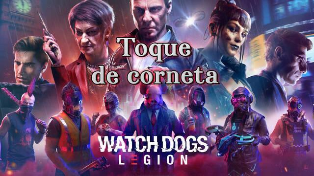 Toque de corneta al 100% en Watch Dogs Legión
