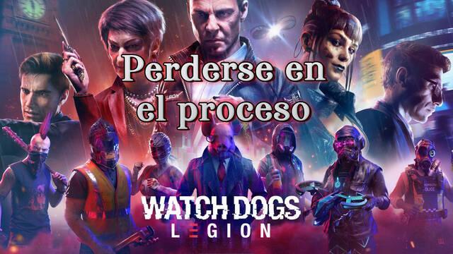 Perderse en el proceso al 100% en Watch Dogs Legión