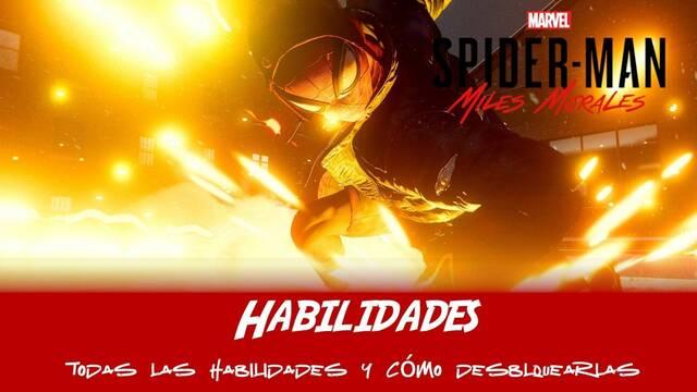 Habilidades en Spider-Man: Miles Morales -  cómo conseguirlas y cuáles son las mejores