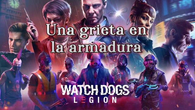 Una grieta en la armadura al 100% en Watch Dogs Legión