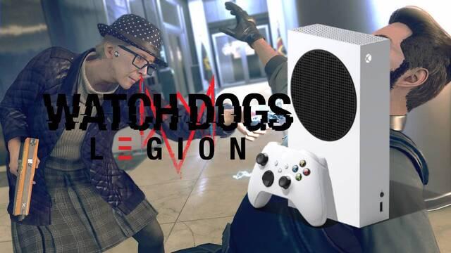 Watch Dogs Legion y su rendimiento en Xbox Series S.