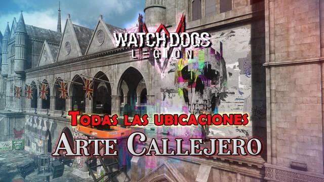 Arte callejero en Watch Dogs Legión: TODAS las ubicaciones