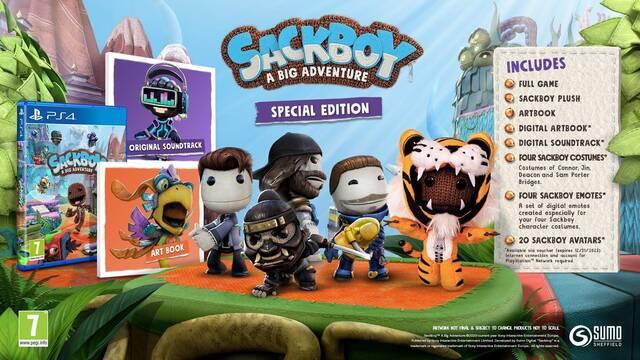Sackboy: Una aventura a lo grande incluirá trajes de otros juegos de Sony
