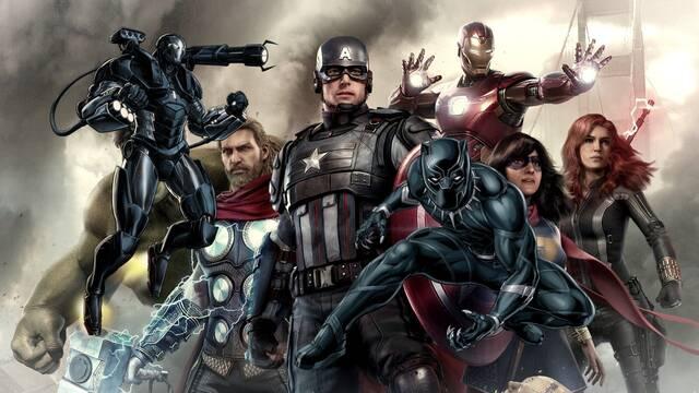 Black Panther y War Machine en Marvel's Avengers