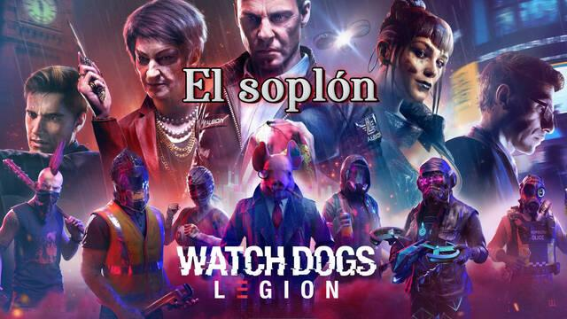 El soplón al 100% en Watch Dogs Legión