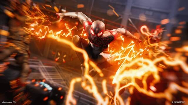 Anuncio para televisión de Spider-Man: Miles Morales.