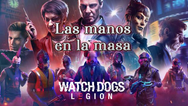 Las manos en la masa al 100% en Watch Dogs Legión