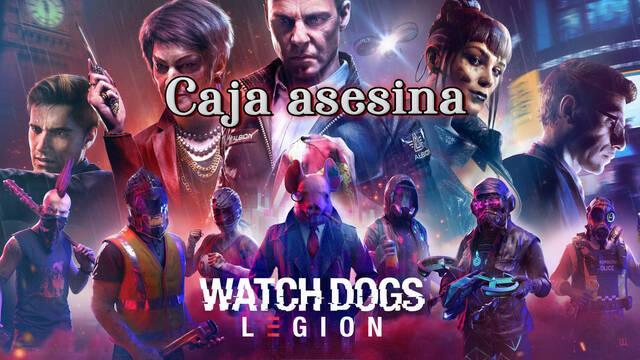 Caja asesina al 100% en Watch Dogs Legión