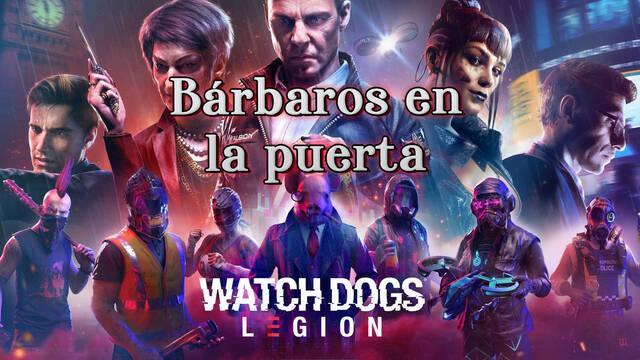 Bárbaros en la puerta al 100% en Watch Dogs Legión