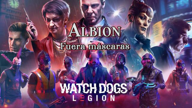Albion, Fuera máscaras al 100% en Watch Dogs Legión