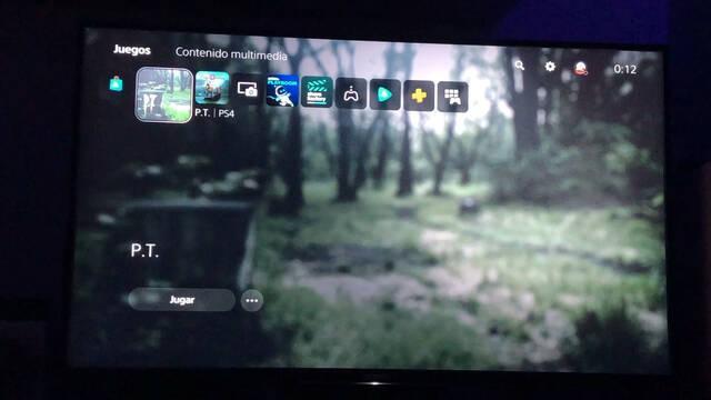 P.T. retrocompatible con PS5