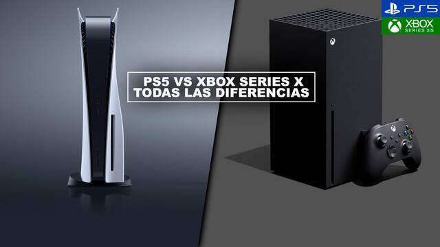 PS5 vs Xbox Series X - ¿Cuál es mejor? Todas las diferencias