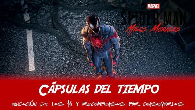 TODAS las cápsulas del tiempoen Spider-Man: Miles Morales