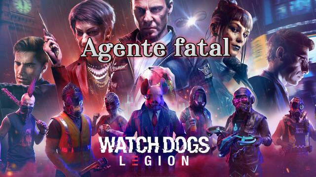 Agente fatal al 100% en Watch Dogs Legión