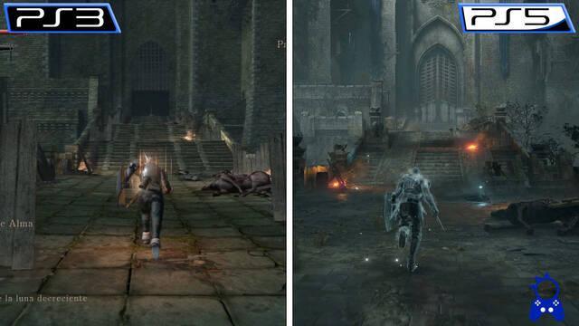 Comparan el remake de Demon's Souls con su versión original de PS3