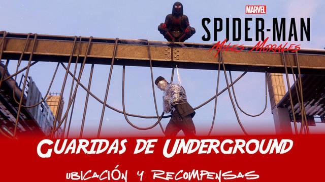 TODAS las guaridas de los Underground en Spider-Man: Miles Morales
