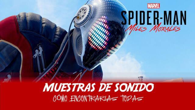 TODAS las muestras de sonido de Spider-Man: Miles Morales y cómo conseguirlas