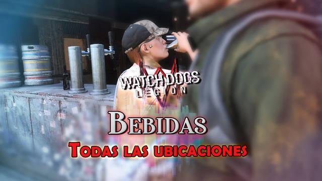 Todas las bebidas en Watch Dogs Legión - Localización