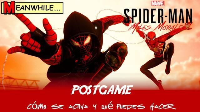 Postgame en Spider-Man: Miles Morales - Qué es y qué se puede hacer