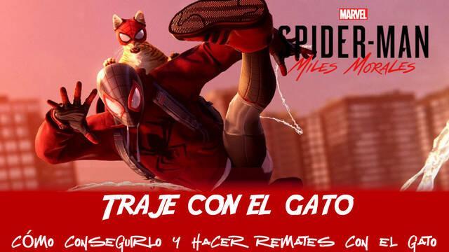 ¿Cómo se consigue el traje del gato en Spider-Man: Miles Morales?