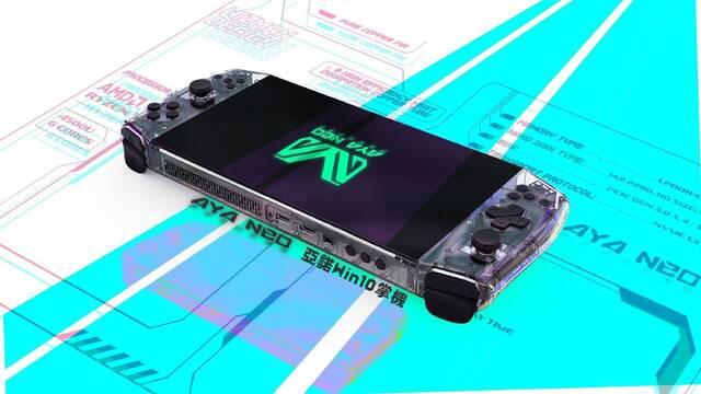 Aya Neo, la nueva consola con forma de Nintendo Switch
