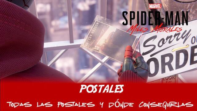 TODAS las postales en Spider-Man: Miles Morales y cómo conseguirlas