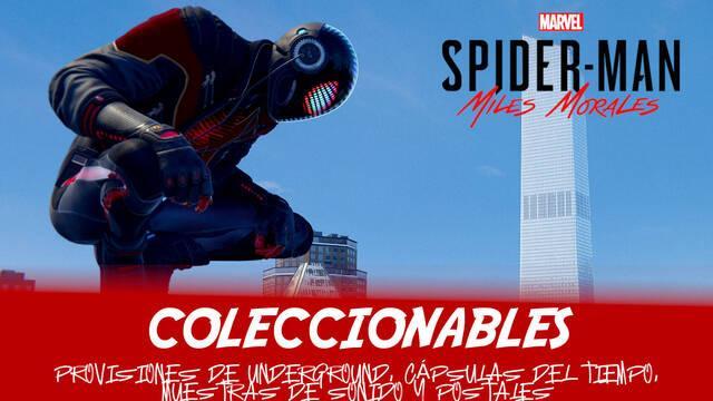 TODOS los coleccionables en Spider-Man: Miles Morales