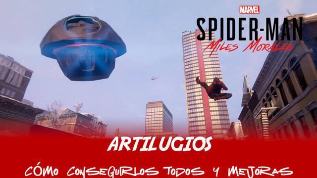 TODOS los artilugios y mejoras en Spider-Man: Miles Morales