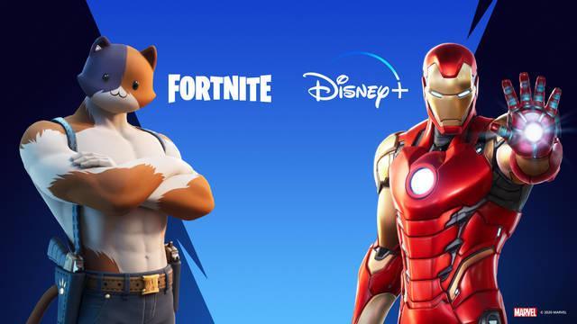 Fortnite: Consigue dos meses de Disney+ gratis por compras en el juego
