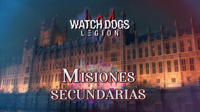 Todas las misiones secundarias de Watch Dogs Legión