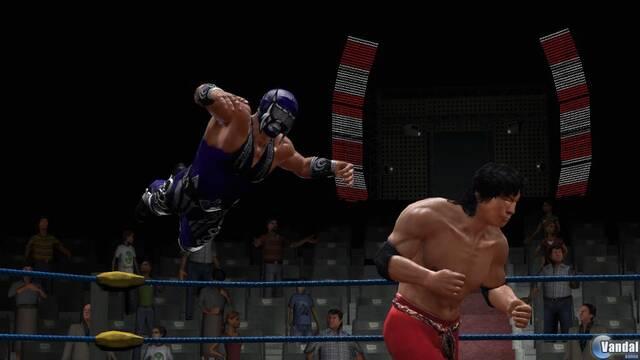 Primeras imágenes de Lucha Libre: Héroes del Ring