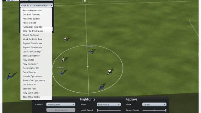 Nuevas imágenes de Football Manager 2010 para PC