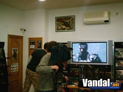 The Punisher y Full Spectrum Warrior PS2 se presentan en España
