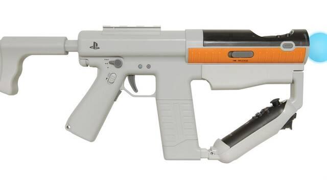 Sony muestra su periférico para Move con forma de pistola