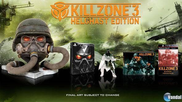 Confirmadas las ediciones especiales de Killzone 3 en Europa