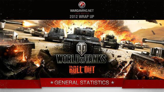 Desveladas las estadísticas de World of Tanks