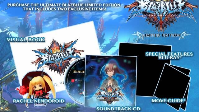 BlazBlue: Chrono Phantasma se lanza el 25 de marzo en Estados Unidos