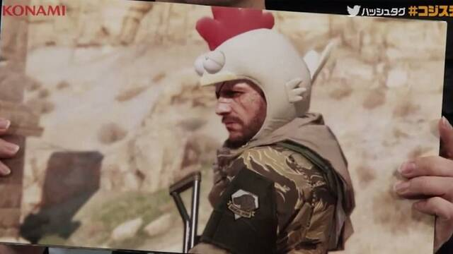Un casco de gallina bajará la dificultad en Metal Gear Solid V: The Phantom Pain