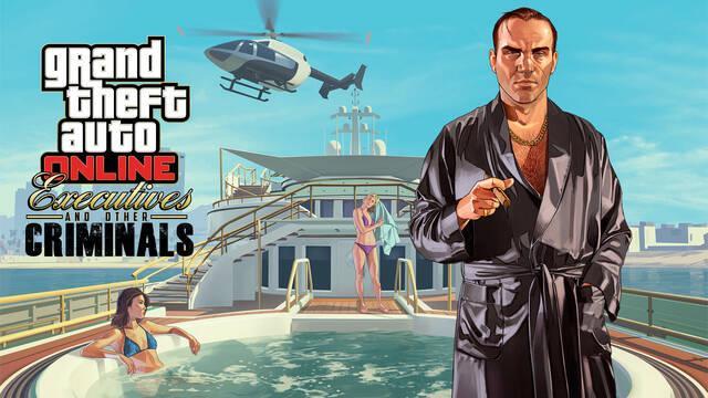 GTA Online presenta su ampliación 'Ejecutivos y otros criminales' en tráiler