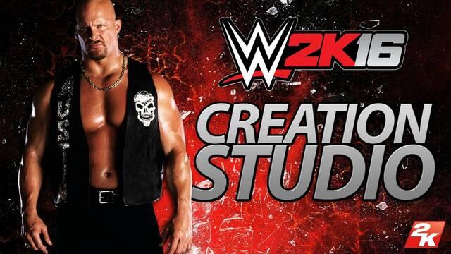 Ya está disponible la aplicación WWE 2K16 Creation Studio en iOS y Android