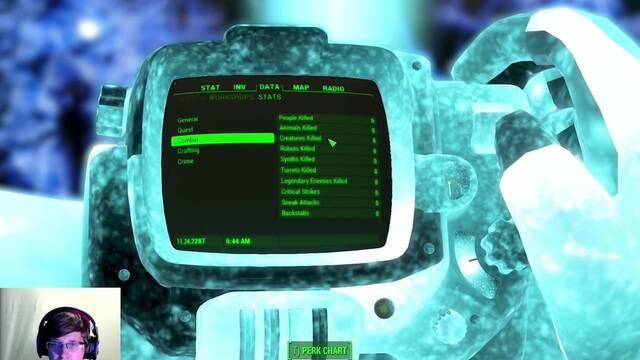 Un jugador termina Fallout 4 sin matar y en el nivel máximo de dificultad