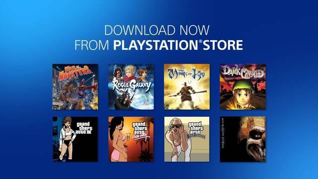 Se anuncian oficialmente los primeros juegos de PS2 para PlayStation 4