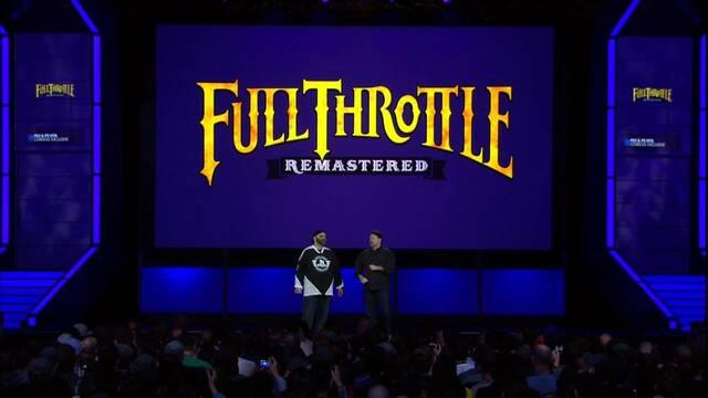 Anunciado Full Throttle Remastered para PS4 y PS Vita
