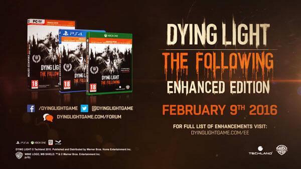 Techland presenta Dying Light: Enhanced Edition y la expansión The Following en vídeo
