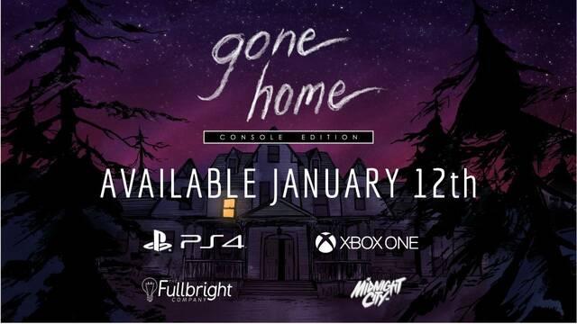 Gone Home llegará a Xbox One y PlayStation 4 el próximo 12 de enero
