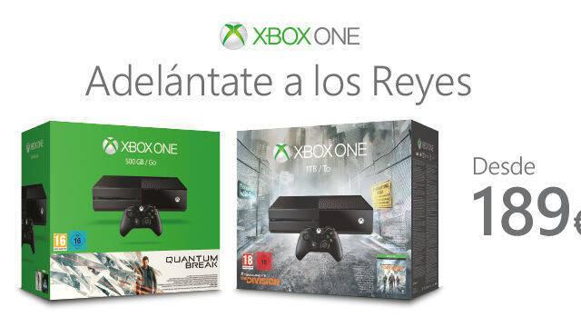 Consigue la Xbox One original desde 189 euros en cualquiera de sus packs