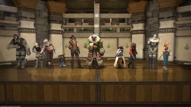 Un grupo de fans organiza una obra de teatro en Final Fantasy XIV