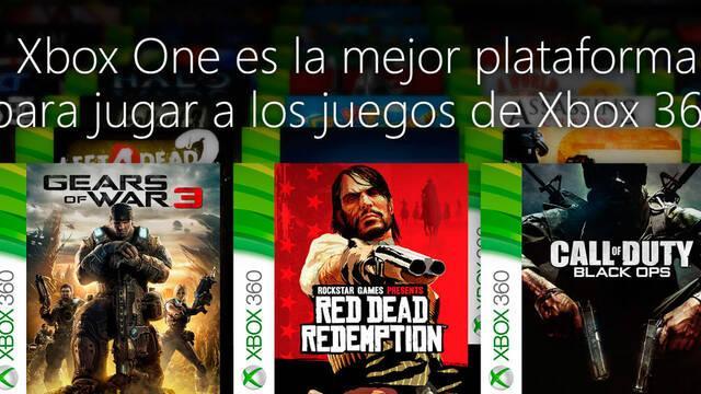Una quinta parte del catálogo de Xbox 360 ya es compatible en Xbox One