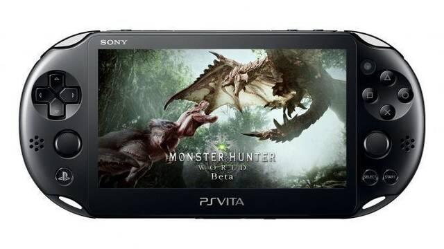 Monster Hunter World se muestra en el uso a distancia de PS Vita